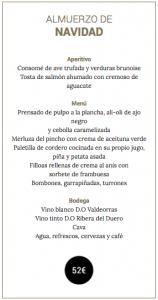 Cena de Nochebuena, en el Gran Hotel Los Abetos