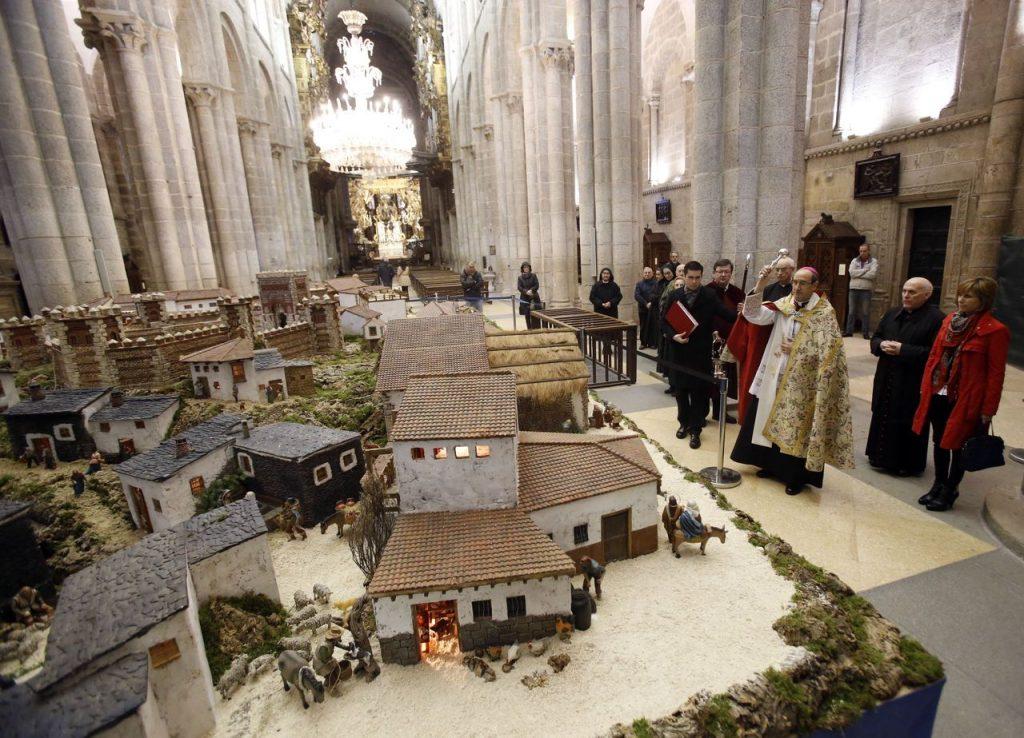 Belén de la Catedral de Santiago