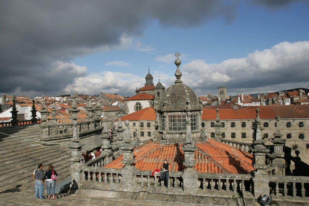 Las cubiertas de la Catedral de Santiago