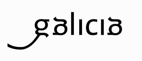 Logo de marca de Galicia