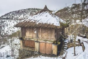 Pedrafita do Cebreiro-Visitar Galicia invierno