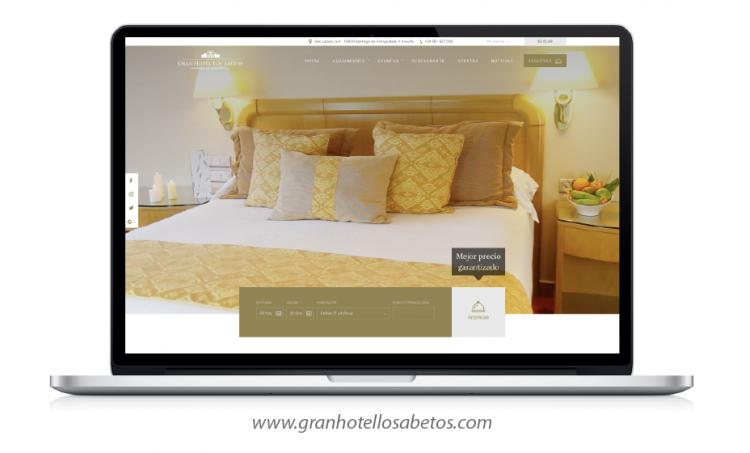 nueva web Gran Hotel Los Abetos