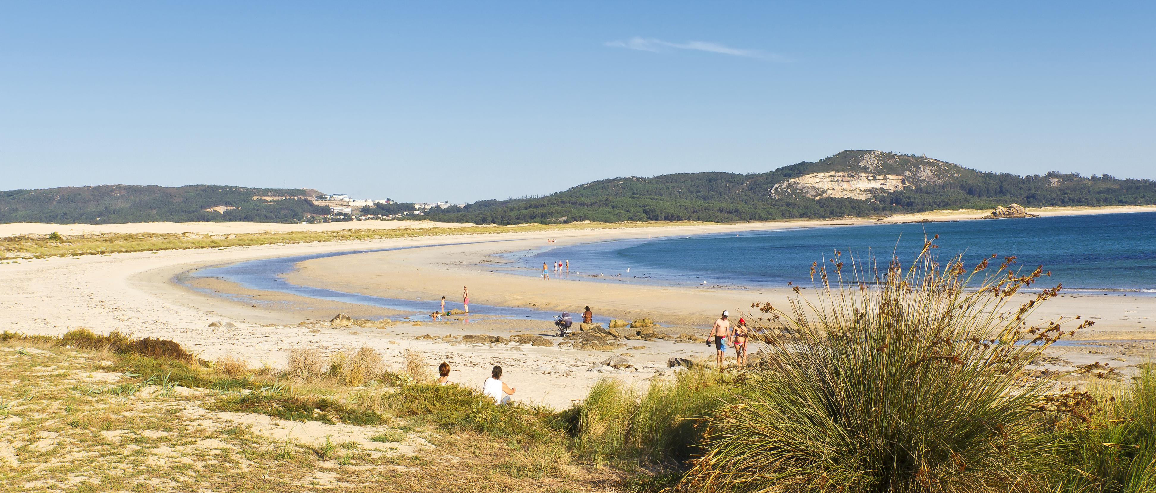 Santiago también tiene playa